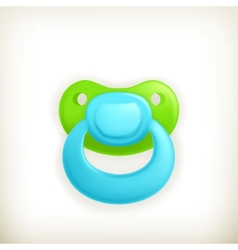Pacifier icon vector