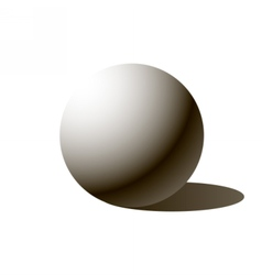 sphere ball vector image