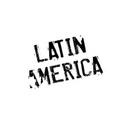 Latin america rubber stamp vector