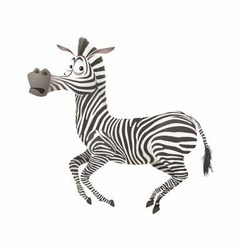 Zebra fun vector