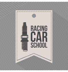 racing league design vector image