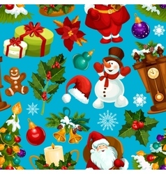 Christmas seamless pattern for xmas design vector
