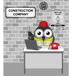 Construction Company vector image vector image