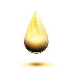 Honey drop vector
