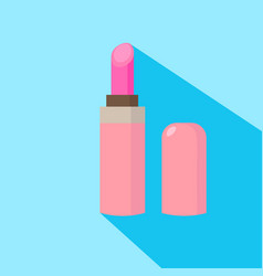 Lipstick cartoon isolated vector