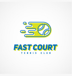 sport template logo vector image vector image