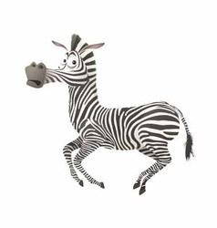 Zebra fun vector image vector image