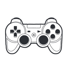 Joystick art vector