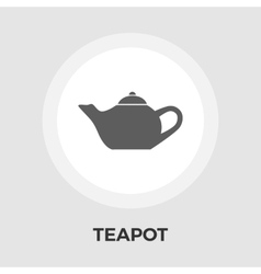Kettle flat icon vector