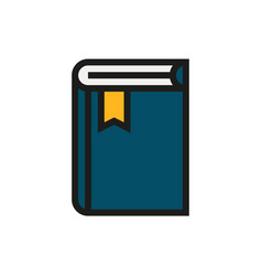 Book icon on white background vector
