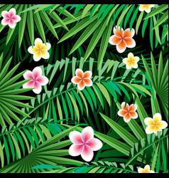 Jungle seamless pattern vector
