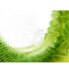 low poly art background vector image vector image