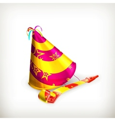 Party hat vector image vector image