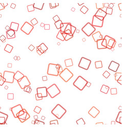 Seamless geometric square background pattern - vector