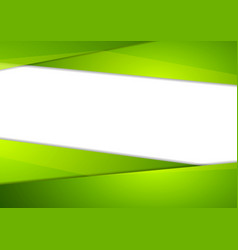 Tech corporate abstract green background vector