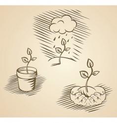 Vector plant concepts vector