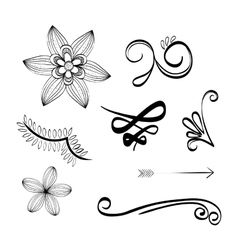 Flat about doodle design vector