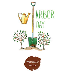 arbor day vector image