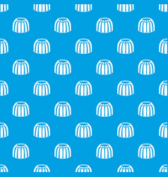 Fruit jelly pattern seamless blue vector