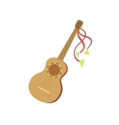 Guitar Mexican Culture Symbol vector image vector image