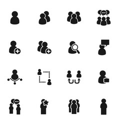 People icon5 vector