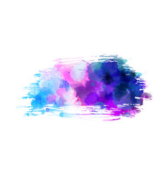 watercolor imitation grunge brushed background vector image vector image