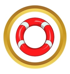 Lifeline icon vector