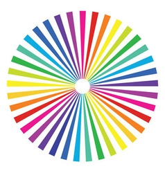 colored rainbow background vector image