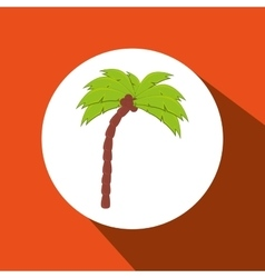 Palm isolated design vector