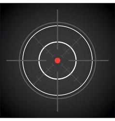 Crosshair vector