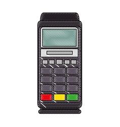 Dataphone electronic device vector