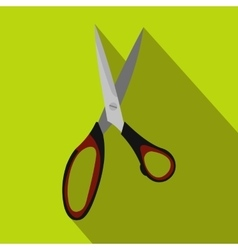 Dressmake shear flat icon vector image vector image