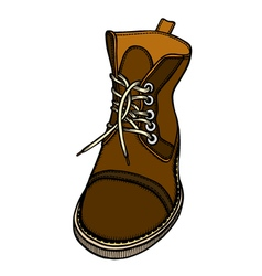 shoes 218 03 vector image vector image