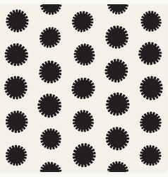 Seamless sunburst shapes freehand pattern vector