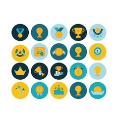 Flat icons set 29 vector