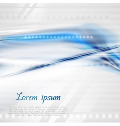 Abstract modern technical background vector image vector image