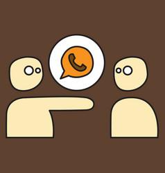 Button icon backgroundwhatsapp logo design whats vector
