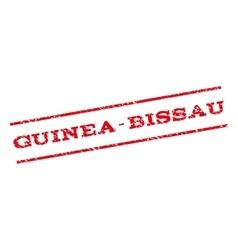 Guinea-bissau watermark stamp vector