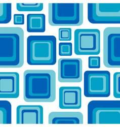 retro squares vector image