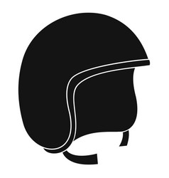 Safety helmet icon simple style vector