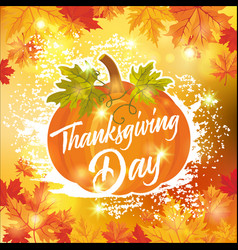 thanksgiving day 10 vector image