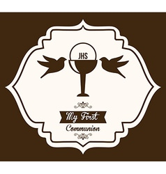 My first communion vector