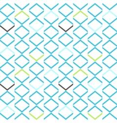 Bright blue geometrical modern seamless pattern vector