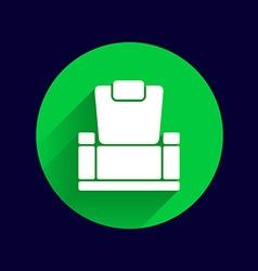 chair icon button logo symbol concept vector image vector image