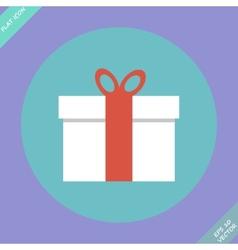 Gift box - vector image vector image