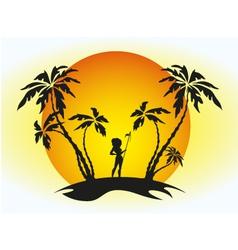 Island vector
