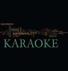 The best karaoke equipment to enhance your vector