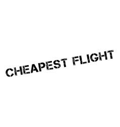 Cheapest flight rubber stamp vector