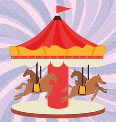 circus entertainment vector image vector image