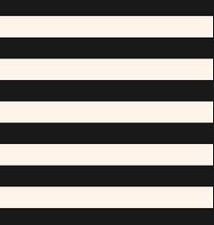 horizontal stripes seamless pattern black white vector image